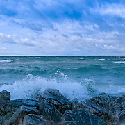 """Morning Waves a Crashing 2""<br />