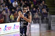 Niccoloo' De Vico<br /> Unicusano Roma - Angelico Biella<br /> Campionato Basket LNP 2016/2017<br /> Roma 29/01/2017<br /> Foto Ciamillo-Castoria