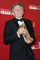 File photo : Roman Polanski at the photocall during the 39th annual Cesar Film Awards ceremony held at Theatre du Chatelet in Paris, France on February 28, 2014. Film dirctor Roman Polanski has given up a chance to preside over the Cesar awards - France's equivalent of the Oscars, his lawyer said on Thursday after the decision to hand him the role caused outrage among women's groups, who had called for protests. Their anger is caused by the fact Polanski has been wanted in the US for almost four decades for the rape of a 13-year-old girl in Los Angeles in 1977. Photo by Mireille Ampilhac/ABACAPRESS.COM