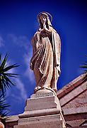 Statue of the Blessed Mother, Church of the Nativity, Bethlehem, Israel