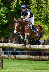Tim Price and RINGWOOD SKY BOY - Cross Country phase, Mitsubishi Motors Badminton Horse Trials, Badminton House, Gloucestershire, United Kingdom, Saturday, 10th May 2014. Picture by Nico Morgan / i-Images