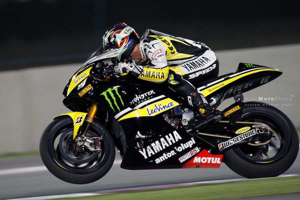 2010 MotoGP World Championship, MotoGP, Winter Test, Doha,  Qatar, 19 March 2010, Colin Edwards
