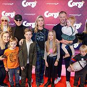 NLD/Amsterdam/20190210- première Corgi,  Bridget Maasland en familie,  ouders en broer Bryan