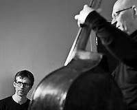Frá æfingu jazztríó Árna Heiðars (vinnuheiti DIM 41).