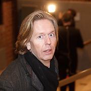 NLD/Amsterdam/20160210 - gasten arriveren bij Correspondents' Dinner 2016, NOS directeur Jan de Jong