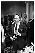 Anthony Haden-Guest.<br />Paul Quatrochi birthday drinks. 1994. Players Club, Gramercy park. New York. Jan 11/1994. © Copyright Photograph by Dafydd Jones 66 Stockwell Park Rd. London SW9 0DA Tel 020 7733 0108 www.dafjones.com