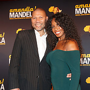 NLD/Amsterdam/20151026 - perspresentatie musical Amandla! Mandela , Kenneth Herdigein en  Joanne Telesford