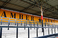General view of the terraces at Abbey Stadium, home of Cambridge United Football Club, before the Skrill Conference Premier match at the Abbey Stadium, Cambridge<br /> Picture by David Horn/Focus Images Ltd +44 7545 970036<br /> 11/03/2014