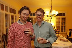 Tim and Bob Wiseman celebrate a birthday, Saturday, Dec. 07, 2013 at Wiseman Manor in Lexington.