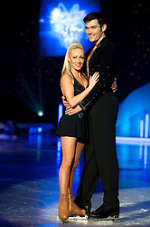 Dancing on Ice Photocall Sheffield Motorpoint Arena .Brianne Delcourt and Sam Attwatern..7 April 2011.Images © Paul David Drabble