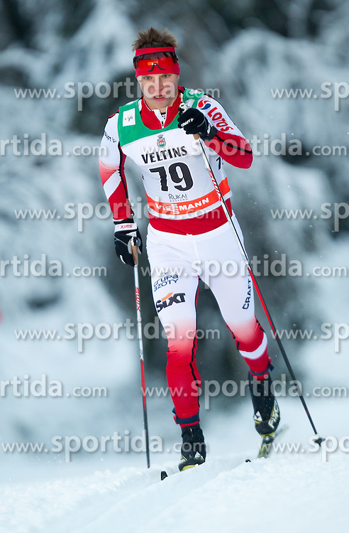 30.11.2014, Nordic Arena, Ruka, FIN, FIS Weltcup Langlauf, Kuusamo, 15 km Herren, im Bild Maciej Starega (POL) // Maciej Starega of Poland during Mens 15 km Cross Country Race of FIS Nordic Combined World Cup at the Nordic Arena in Ruka, Finland on 2014/11/30. EXPA Pictures © 2014, PhotoCredit: EXPA/ JFK