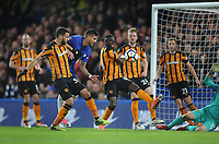 Football - 2017 / 2018 FA Cup - Fifth Round: Chelsea vs. Hull City<br /> <br /> Emerson of Chelsea joins the attack, at Stamford Bridge.<br /> <br /> COLORSPORT/ANDREW COWIE