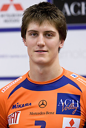 Matevz Kamnik at press conference of volleyball club ACH Volley before new season 2009/2010,  on September 28, 2009, in Ljubljana, Slovenia.  (Photo by Vid Ponikvar / Sportida)