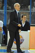 DESCRIZIONE : Cremona Lega A 2010-11 Vanoli Braga Cremona Armani Jeans Milano<br /> GIOCATORE : Dan Peterson<br /> SQUADRA :  Armani Jeans Milano<br /> EVENTO : Campionato Lega A 2010-2011 <br /> GARA : Vanoli Braga Cremona Armani Jeans Milano<br /> DATA : 09/11/2011<br /> CATEGORIA : ritratto delusione<br /> SPORT : Pallacanestro <br /> AUTORE : Agenzia Ciamillo-Castoria/GiulioCiamillo<br /> Galleria : Lega Basket A 2010-2011 <br /> Fotonotizia : Cremona Lega A 2010-11 Vanoli Braga Cremona Armani Jeans Milano<br /> Predefinita :