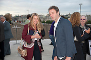 ANYA HINDMARCH; JAMES SEYMOUR, Opening of Love is what you want. Exhibition of work by Tracey Emin. Hayward Gallery. Southbank Centre. London. 16 May 2011. <br /> <br />  , -DO NOT ARCHIVE-© Copyright Photograph by Dafydd Jones. 248 Clapham Rd. London SW9 0PZ. Tel 0207 820 0771. www.dafjones.com.