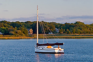 Catboat, South Fork, Springs, Accabonac Harbor, Long Island, New York