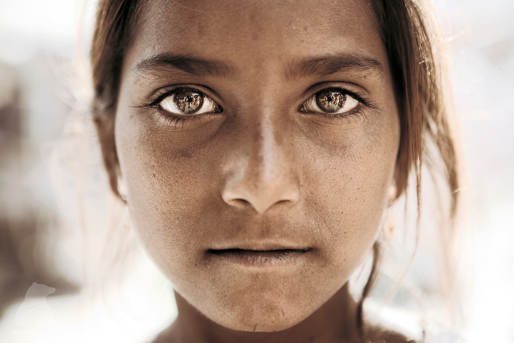 Girl from the town of Pushkar, Rajasthan, India.
