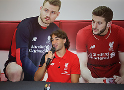 KUALA LUMPUR, MALAYSIA - Wednesday, July 22, 2015: Liverpool's Lazar Markovic during an event at the Mid Valley Mega Mall on day ten of the club's preseason tour. (Pic by David Rawcliffe/Propaganda)