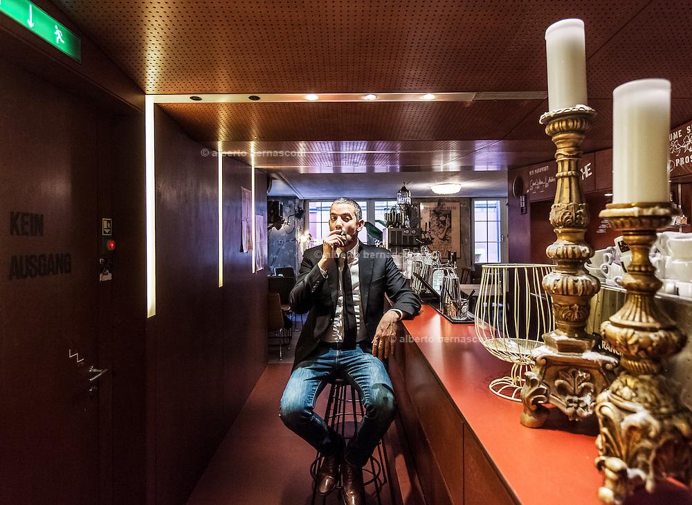 Switzerland, Zurich: Cabaret Voltair, where al the dadaist movement took origin, the director Adrian Notz