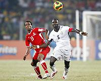 Fotball<br /> Afrika mesterskapet 2008<br /> Foto: DPPI/Digitalsport<br /> NORWAY ONLY<br /> <br /> FOOTBALL - AFRICAN CUP OF NATIONS 2008 - QUALIFYING ROUND - GROUP A - 24/01/2008 - GHANA v NAMIBIA - JOHN MENSAH (GHA) / RUDOLF BESTER (NAM)