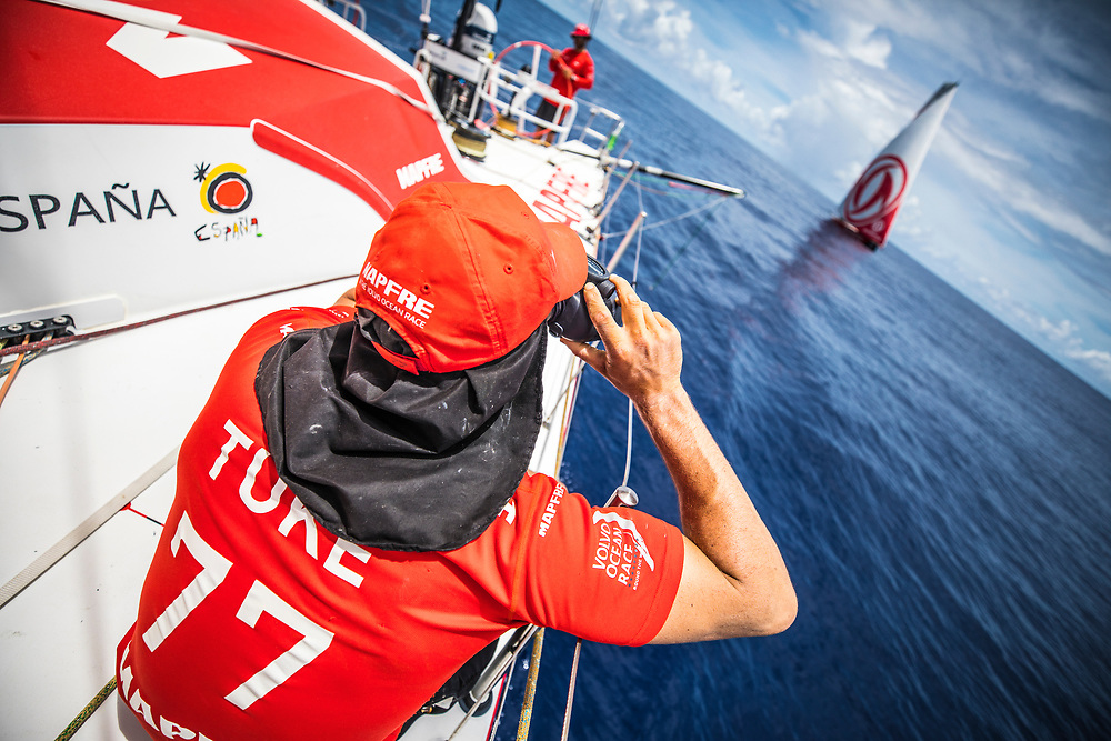 Leg 6 to Auckland, day 15 on board MAPFRE. 21 February, 2018.