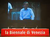 Vittorio Sgarbi at Venice Biennale