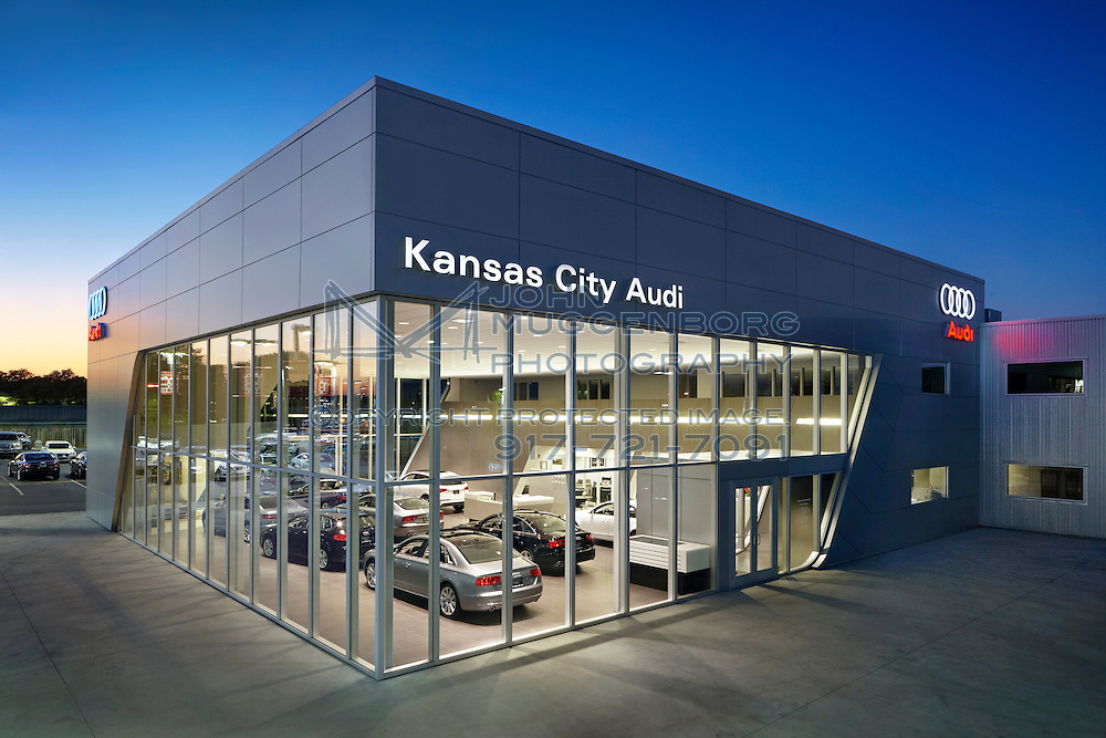 image of the audi terminal dealership in kansas city, mo. | new york