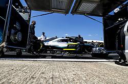 July 8, 2018 - Silverstone, Great Britain - Motorsports: FIA Formula One World Championship 2018, Grand Prix of Great Britain, .#77 Valtteri Bottas (FIN, Mercedes AMG Petronas Motorsport) (Credit Image: © Hoch Zwei via ZUMA Wire)