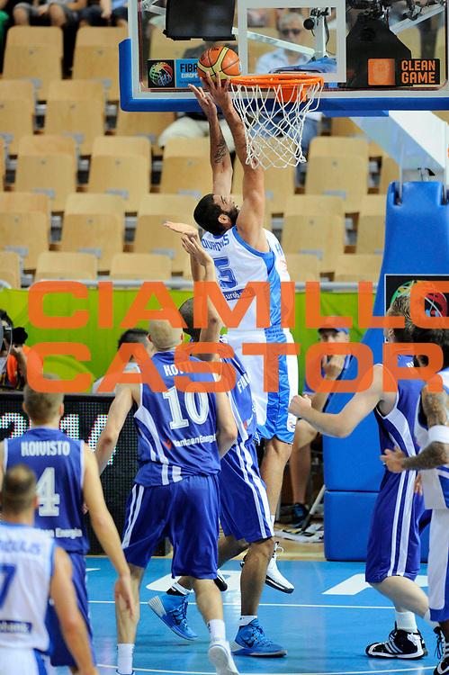 DESCRIZIONE : Capodistria Koper Slovenia Eurobasket Men 2013 Preliminary Round Grecia Finlandia Greece Finland <br /> GIOCATORE : Yannis Bouroussis<br /> CATEGORIA : special tiro<br /> SQUADRA : Grecia<br /> EVENTO : Eurobasket Men 2013<br /> GARA : Grecia Finlandia Greece Finland <br /> DATA : 09/09/2013 <br /> SPORT : Pallacanestro&nbsp;<br /> AUTORE : Agenzia Ciamillo-Castoria/N. Dalla Mura<br /> Galleria : Eurobasket Men 2013 <br /> Fotonotizia : Capodistria Koper Slovenia Eurobasket Men 2013 Preliminary Round Grecia Finlandia Greece Finland