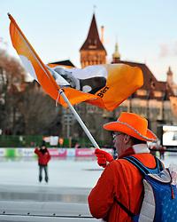 06-01-2011 SCHAATSEN: EC ALLROUND: BUDAPEST<br /> Dutch support<br /> ©2011-FotoHoogendoorn.nl