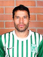 Colombia League - Postobom Liga 2014-2015 -<br /> Club Atletico Nacional Medellin - Colombia / <br /> Elkin Calle