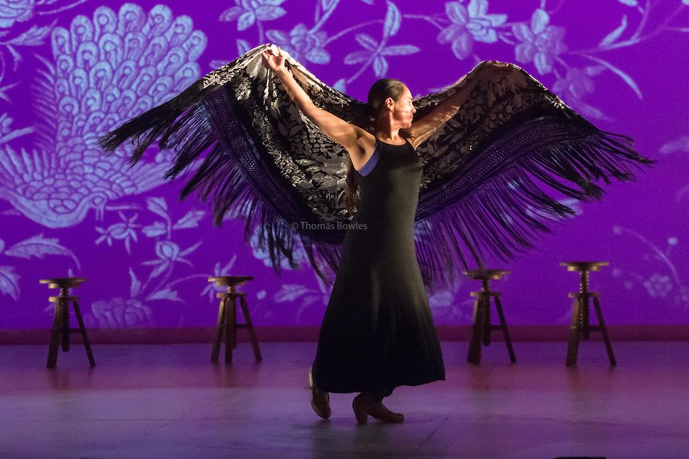 Rafaela Currasco performs Las Cuartro Esquinas