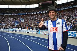 05.02.2011, Olympiastadion Berlin, GER, 2.FBL, Hertha BSC Berlin vs Union Berlin im Bild Peer Kusmank (Jungelkönig 2011)  EXPA Pictures © 2011, PhotoCredit: EXPA/ nph/  Hammes       ****** out of GER / SWE / CRO  / BEL ******