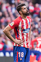 Atletico de Madrid Diego Costa during La Liga match between Atletico de Madrid and Athletic Club and Wanda Metropolitano in Madrid , Spain. February 18, 2018. (ALTERPHOTOS/Borja B.Hojas)