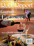 Magazine Cover - Robb Report lifestyle cover