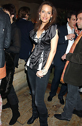 ISABELLA CRANE at a party hosted by Daniella Helayel of fashion label ISSA held at Taman Gang, 141 Park Lane, London on 15th February 2006.<br /><br />NON EXCLUSIVE - WORLD RIGHTS