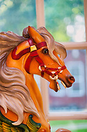Carousel Horse hand carved by Bob Yorburg, 2012
