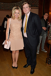 POPPY JAMIE and the HON.PEREGRINE KITCHENER-FELLOWES at a party to celebrate the publication of  'I Used to be in Pictures' an untold story of Hollywood by Austin Mutti-Mewse and Howard Mutti-Mewse held at The Lansdowne Club, London on 6th March 2014.