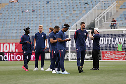 May 28, 2018 - Chester, PA, USA - Chester, PA - Monday May 28, 2018: USMNT during an international friendly match between the men's national teams of the United States (USA) and Bolivia (BOL) at Talen Energy Stadium. (Credit Image: © John Dorton/ISIPhotos via ZUMA Wire)