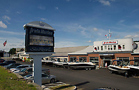 Irwin Marine established in 1919 on Lake Winnipesaukee in Laconia, NH.  (Karen Bobotas for New England Boating Magazine)