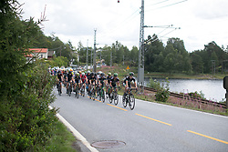 WM3 Pro Cycling Team drives the pace at the front on Stage 3 of the Ladies Tour of Norway - a 156.6 km road race, between Svinesund (SE) and Halden on August 20, 2017, in Ostfold, Norway. (Photo by Balint Hamvas/Velofocus.com)