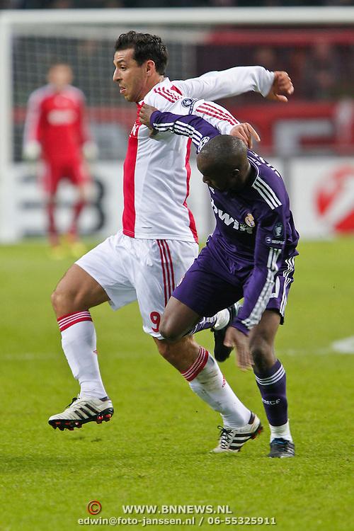 NLD/Amsterdam/20101123 - Ajax - Real Madrid, Mounir El Hamdaoui (9) /