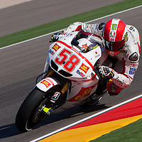 2011 MotoGP World Championship, Round 14, Motorland Aragon, Spain, 18 September 2011, Marco Simoncelli