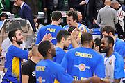 DESCRIZIONE : Eurolega Euroleague 2015/16 Group D Dinamo Banco di Sardegna Sassari - Maccabi Fox Tel Aviv<br /> GIOCATORE : Giacomo Devecchi Guy Pnini<br /> CATEGORIA : Ritratto Before Pregame Fair Play<br /> EVENTO : Eurolega Euroleague 2015/2016<br /> GARA : Dinamo Banco di Sardegna Sassari - Maccabi Fox Tel Aviv<br /> DATA : 03/12/2015<br /> SPORT : Pallacanestro <br /> AUTORE : Agenzia Ciamillo-Castoria/C.Atzori