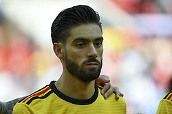 June 23, 2018 - Moscow, Russia - Yannick Carrasco of Belgium during the 2018 FIFA World Cup Group G match between Belgium and Tunisia at Spartak Stadium in Moscow, Russia on June 23, 2018  (Credit Image: © Andrew Surma/NurPhoto via ZUMA Press)