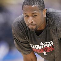 14 June 2012: Miami Heat shooting guard Dwyane Wade (3) warms up prior to Game 2 - Heat at Thunder - of the 2012 NBA Finals, at the Chesapeake Energy Arena, Oklahoma City, Oklahoma, USA.