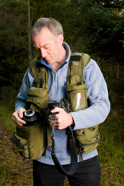 Xtrahand photo-vest (worn by Niall Benvie)