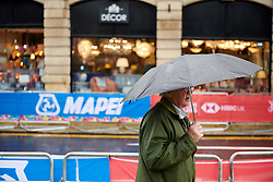 A wet day in Yorkshire for UCI Road World Championships 2019 Elite Women's TT a 30.3 km individual time trial from Ripon to Harrogate, United Kingdom on September 24, 2019. Photo by Sean Robinson/velofocus.com
