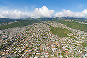 Aerial, ridges, Honolulu, Oahu, Hawaii