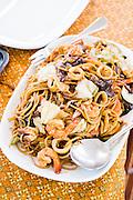 Seafood noodles. Aboard the Meta IV, Mergui Archipelago.